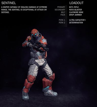 Blood Eagle Sentinel