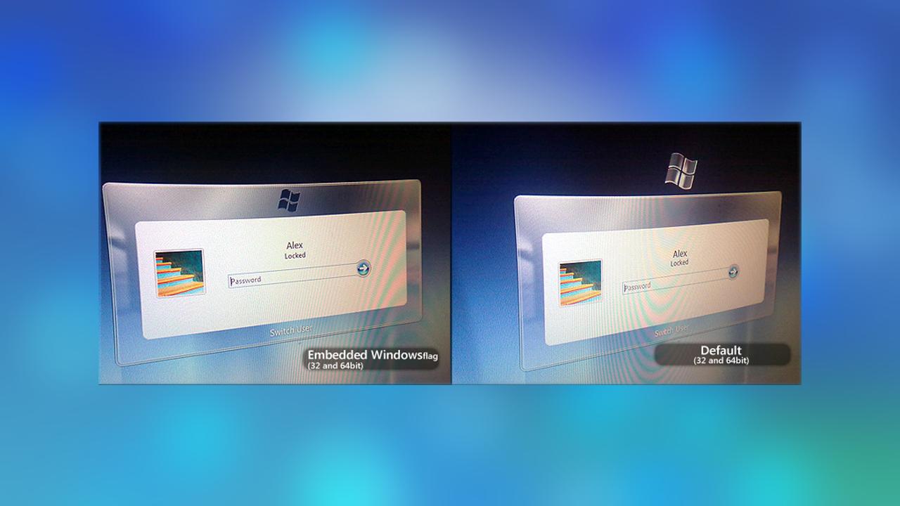 Windows7のログイン ログオン Uiをクールなデザインに変更する方法