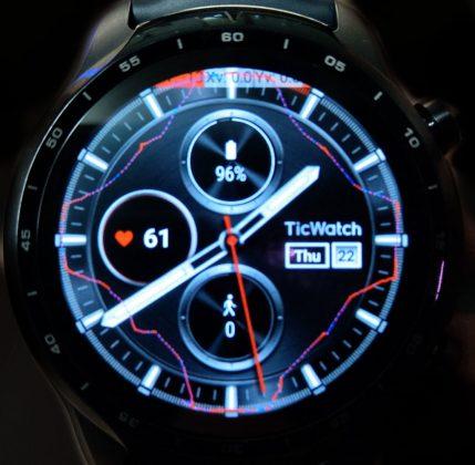TicWatch Pro3 タッチの軌跡