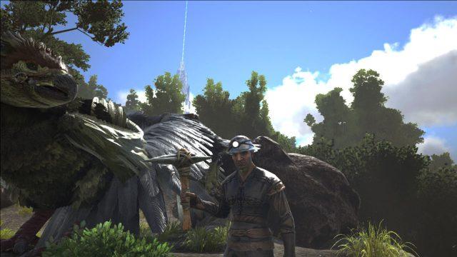 [ARK:SE]恐竜用巨大ゲートの建築と開く方向